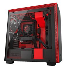 NZXT H700i Black-Red - PC Case