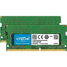 Crucial SO-DIMM 16GB KIT DDR4 2666MHz CL19 Single Ranked - System Memory