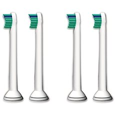 Philips Sonicare HX6024/07 ProResults compact head, 4 pcs per package - Toothbrush Replacement Head