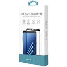 Epico Glass 2.5D for Huawei P10 Lite, black - Glass protector
