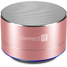 CONNECT IT Boom Box BS500RG Rose-Gold - Bluetooth speaker