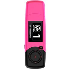 Hyundai MP 366 FMP 4GB pink - MP3 Player