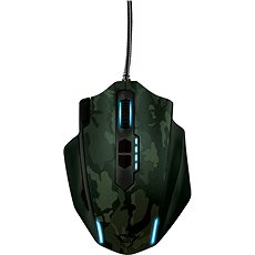 Trust GXT Gaming Mouse 155C - Green Camouflage - Mouse