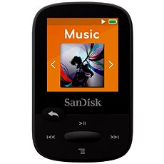 SanDisk Sansa Clip Sports 8GB Black - MP3 Player