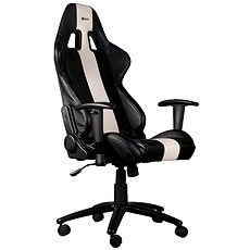 C-TECH PHOBOS Black & White - Gaming Chair