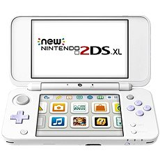 Nintendo NEW 2DS XL White & Levander Green + Tomodachi Life - Game Console
