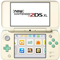 NEW Nintendo 2DS XL Animal Crossing Edition - Game Console