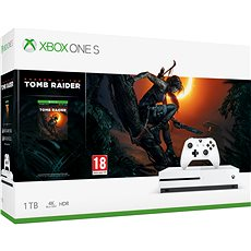 Xbox One S 1TB + Shadow of the Tomb Raider - Game Console
