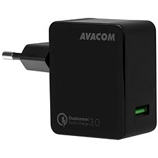 AVACOM HomeMAX Network Charger QC3.0, Black - Charger