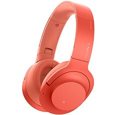 Sony Hi-Res WH-H900N Red - Headphones with Mic