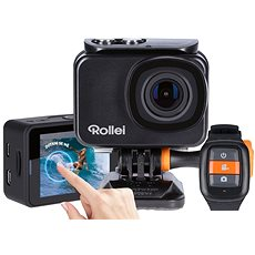 Rollei ActionCam 550 Touch Black + Rollei Travel Tripod - Digital Camcorder