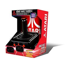Atari Vault Bundle with a USB Joystick - Game Console