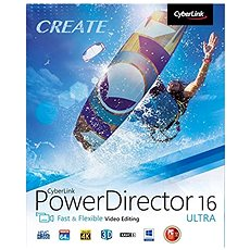 CyberLink PowerDirector 16 Ultra (Electronic Licence) - Video Editing Software