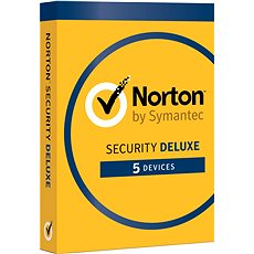 Symantec Norton Security Deluxe 3.0 GB, 1 user, 5 facility, 12 months - Electronic license