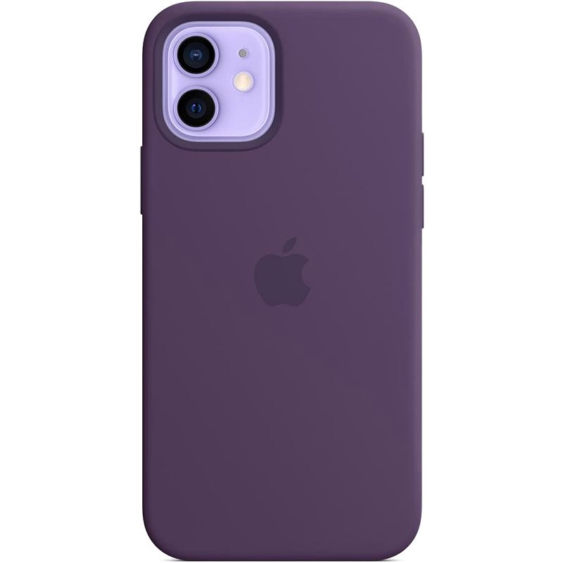 Apple iPhone 12 and 12 Pro Silicone Case with MagSafe Amethyst - Mobile Case