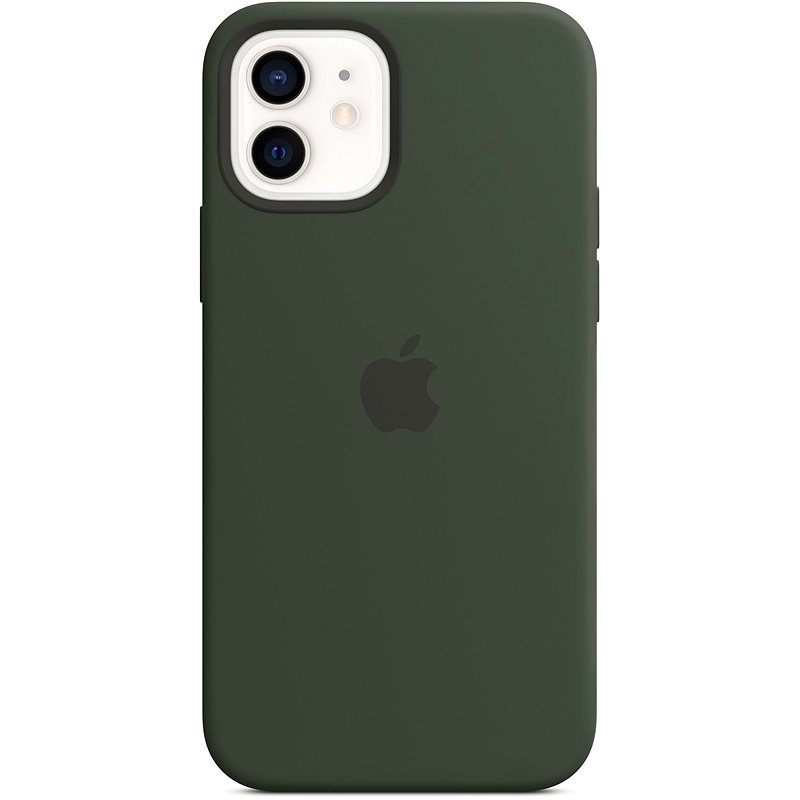 Apple iPhone 12 Mini Silicone Case with MagSafe, Cypriot Green - Mobile Case