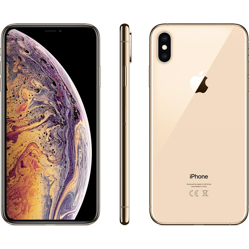 iPhone Xs Max 512GB gold - Mobile Phone