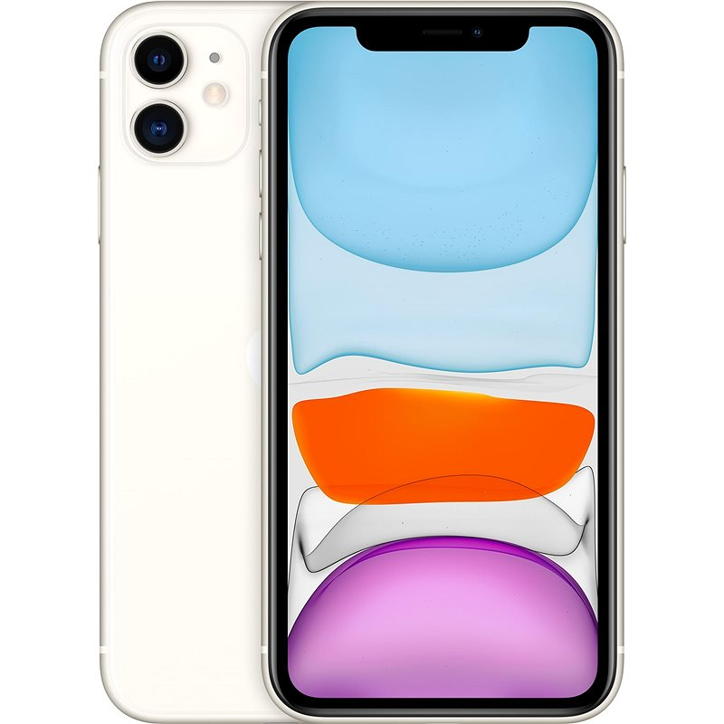 iPhone 11 128GB white - Mobile Phone