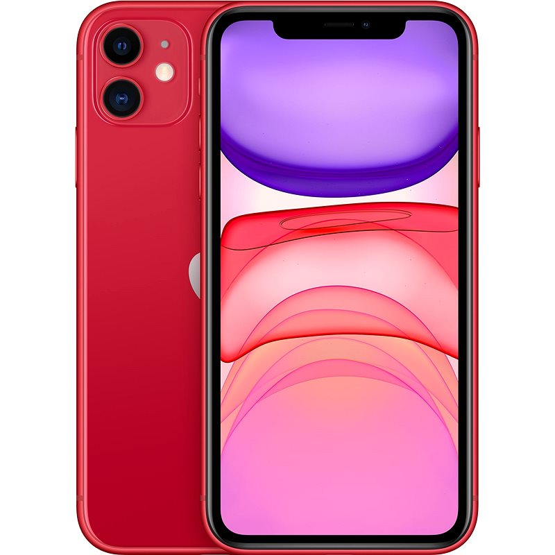iPhone 11 128GB red - Mobile Phone
