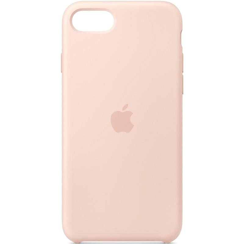 Apple iPhone SE Silicone Case, Sand Pink - Mobile Case