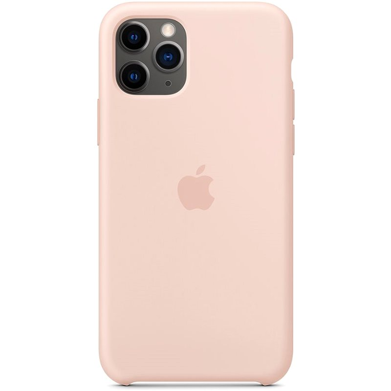 Apple iPhone 11 Pro Silicone Cover, Sand Pink - Mobile Case