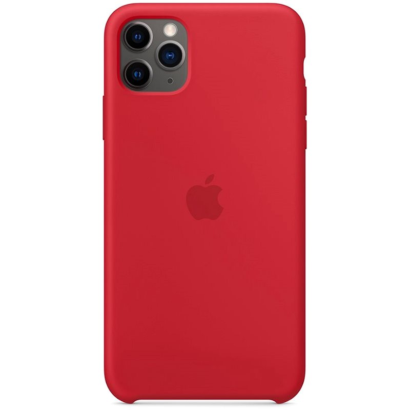Apple iPhone 11 Pro Max Silicone Cover, RED