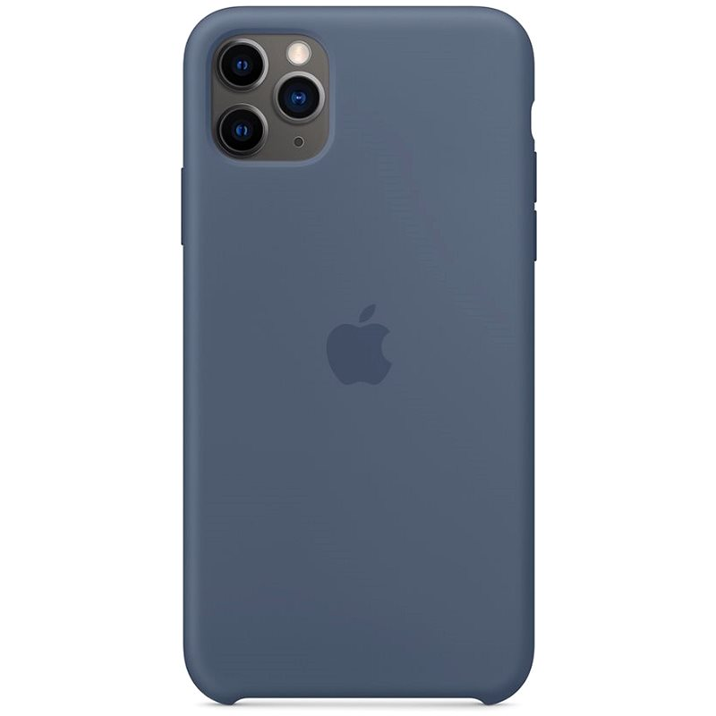Apple iPhone 11 Pro Max Silicone Cover, Nordic Blue