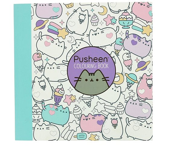 Pusheen Colouring-In Book - Creative Toy Alzashop.com