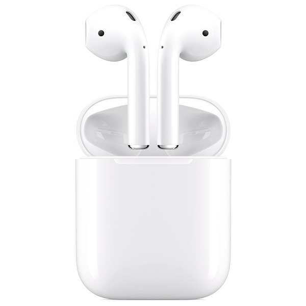 Apple AirPods with Wireless Charging Case - Wireless Headphones