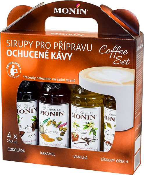 MONIN COFFEE BOX 4 x 0.25 l Syrup