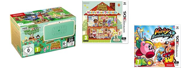 Nintendo New 2ds Xl Animal Crossing Edition Animal Crossing Happy Home Designer Kirby Battle Ro Game Console Alzashop Com,Logical Vs Physical Database Design