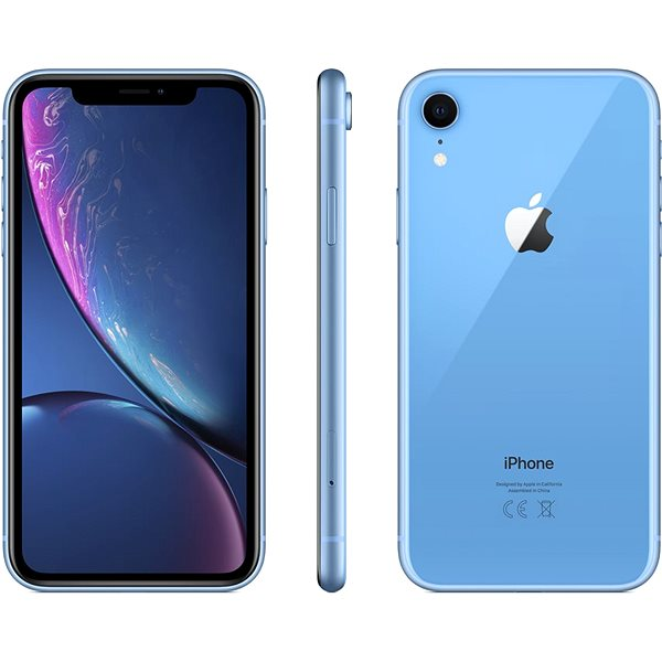 iPhone Xr 64GB blue - Mobile Phone