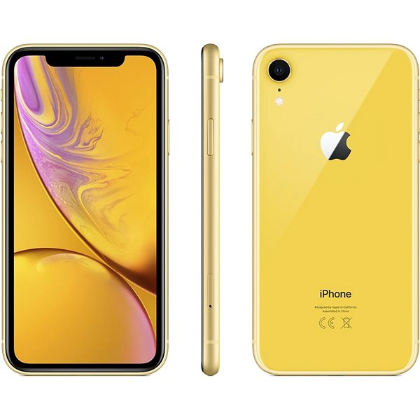 iPhone Xr 128GB Yellow - Mobile Phone