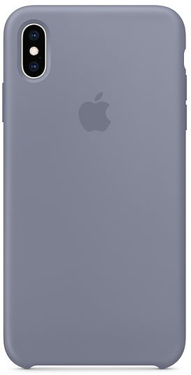 iPhone XS Max Silicone Cover Lavender Grey - Mobile Case