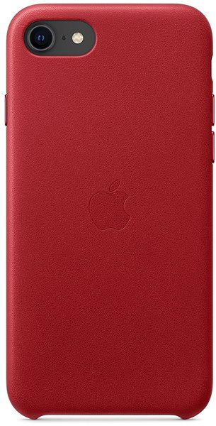 Apple iPhone SE Leather Case, Red - Mobile Case