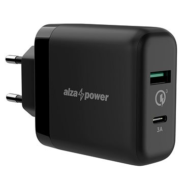 AlzaPower Q200C Quick Charge 3.0 black - AC Adapter