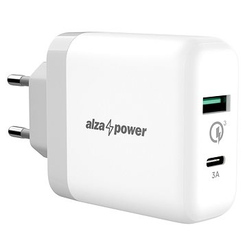 AlzaPower Q200C Quick Charge 3.0 white - AC Adapter