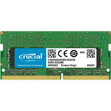 Crucial SO-DIMM 4GB DDR4 2666MHz CL19 Single Ranked - RAM