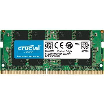 Crucial SO-DIMM 8GB DDR4 2666MHz CL19 Single Ranked - RAM