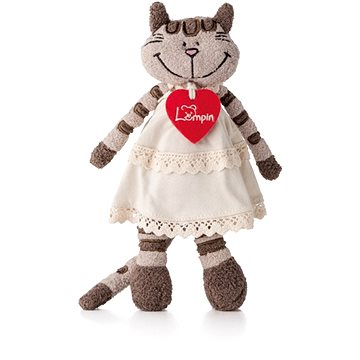 Lumpin Angelique the Cat in a Dress - Plush Toy