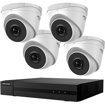 HikVision HiWatch HWK-N4142TH-MH, KIT, 2MP, recorder + 4 cameras, 4ch, 1TB HDD - Camera System