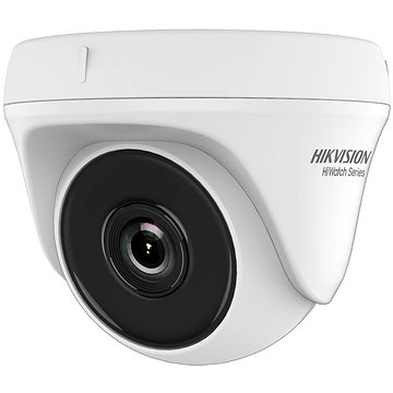 HikVision HiWatch HWT-T120 (3.6mm), Analog, HD1080P, 4-in-1, Turret Indoor, Cover & Base: PlasticEye - Analog Camera