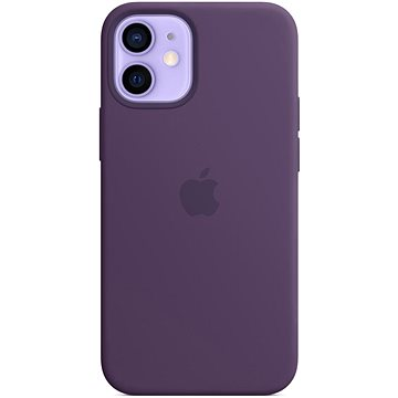 Apple iPhone 12 Mini Silicone Case with MagSafe Amethyst - Mobile Case