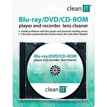 CLEAN IT Brushes - Cleaning CD/DVD - Cleaning CD