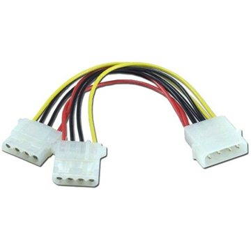 """ROLINE power supply FDD 5.25"""" - 2x 5.25"""", 0.3m - Power Cable"""