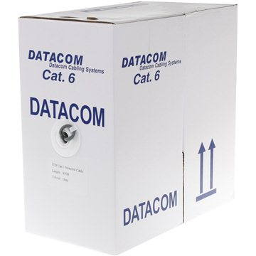 Datacom, line (cable), CAT6, UTP, 305m/box - Network Cable