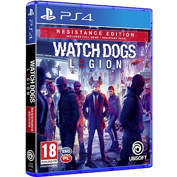 Watch Dogs Legion Resistance Edition - PS4 - Console Game
