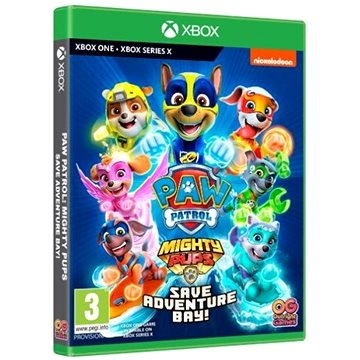Paw Patrol: Mighty Pups Save Adventure Bay - Xbox One - Console Game