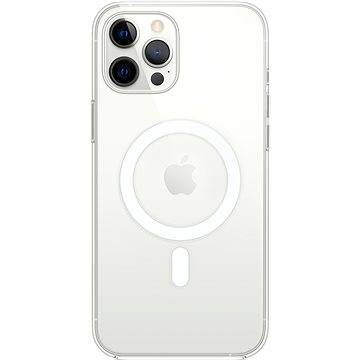 Apple iPhone 12 Pro Max Cover with MagSafe Transparent - Mobile Case
