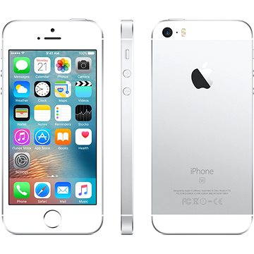 iPhone SE 16GB Silver - Mobile Phone